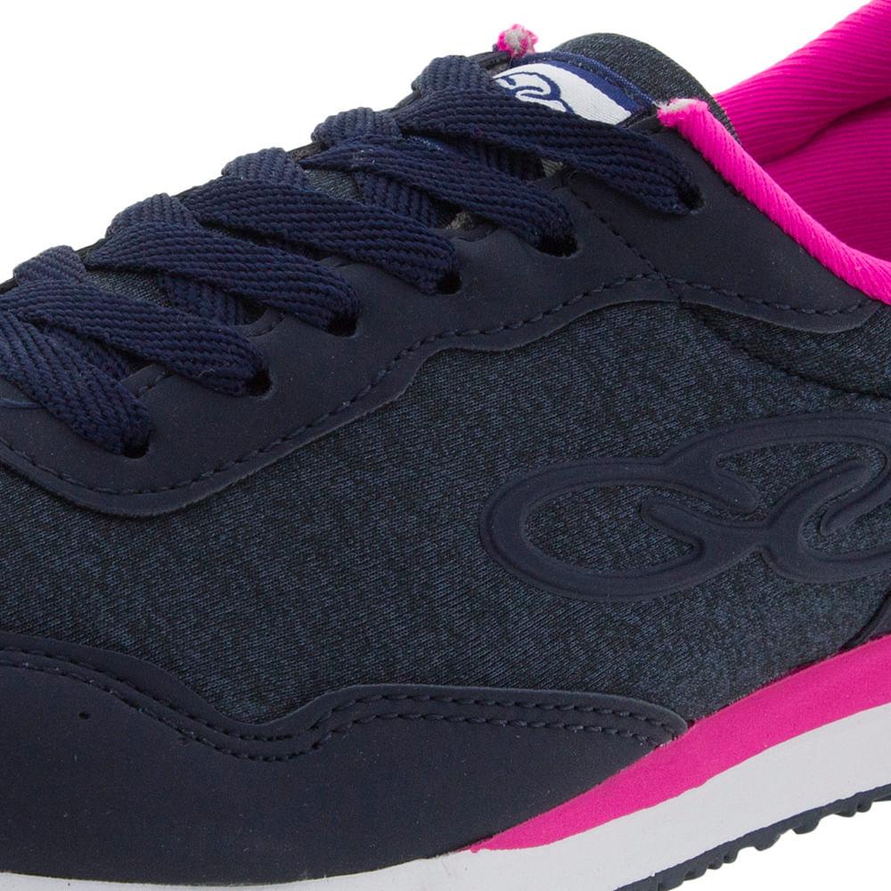 cbe475a5525 Tênis Feminino Fancy Marinho Pink Olympikus - 265 - cloviscalcados