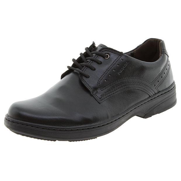 9ed33c226 Sapato Masculino Social Liso Preto Pegada | Lojas Clovis Calçados ...