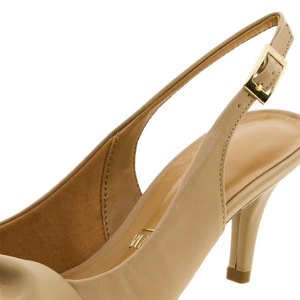 446afef67 Sapato Feminino Chanel Bege Vizzano - 1185152 - cloviscalcados