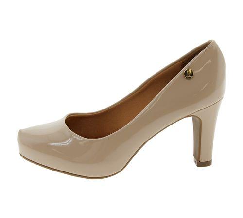 8fec32d243 Sapato Feminino Salto Alto Bege Vizzano - 1840101 - cloviscalcados
