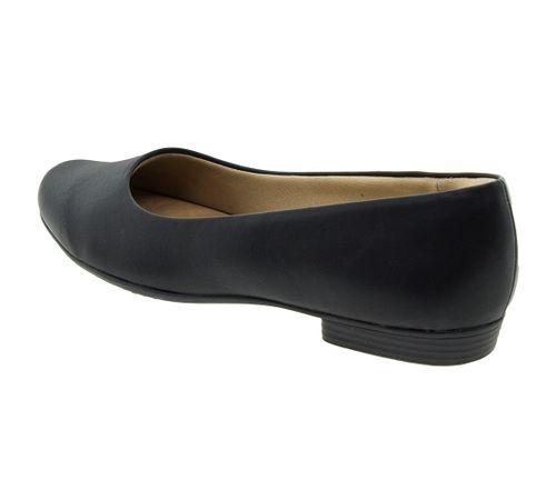 5fb4fe81dc Sapato Feminino Salto Baixo Preto Piccadilly - 250115 - cloviscalcados