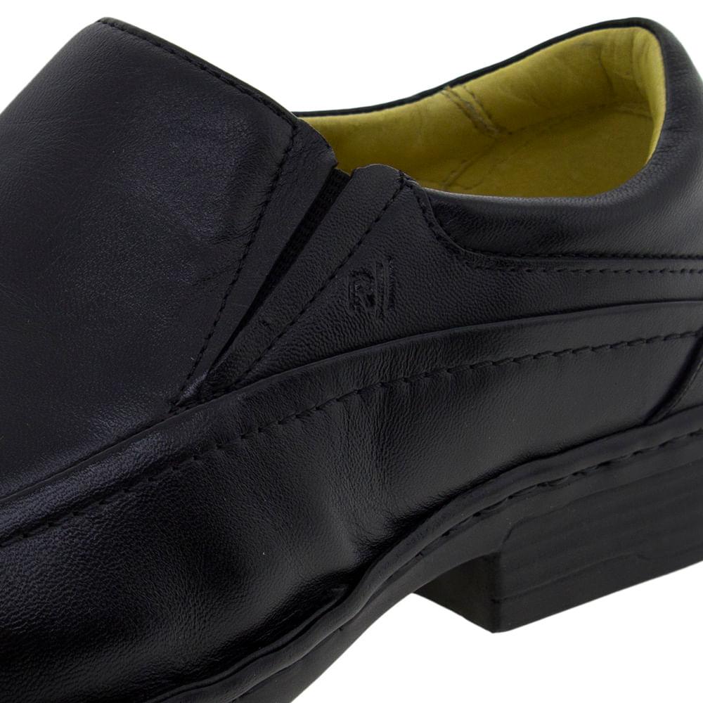 3e7aa9051 Sapato Masculino Social Preto Rafarillo - 8973 - cloviscalcados