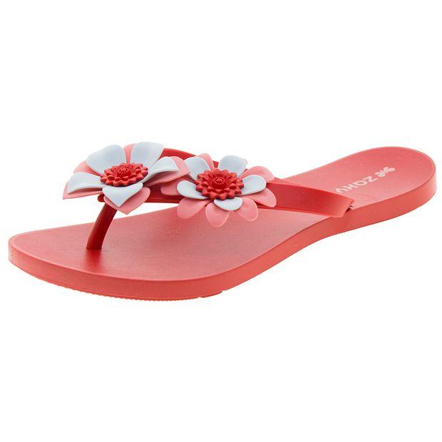 Chinelo-Feminino-Fresh-Garden-II-Vermelho-Zaxy---17289-01