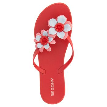 Chinelo-Feminino-Fresh-Garden-II-Vermelho-Zaxy---17289-04