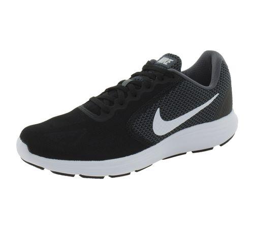 Tênis Masculino Revolution 3 Preto Nike - 819303 - cloviscalcados 3287cf6ee7d9b