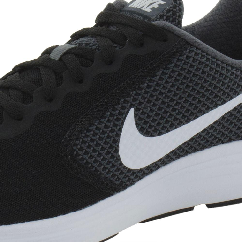 c5c6208352 Tênis Masculino Revolution 3 Preto Nike - 819303 - cloviscalcados