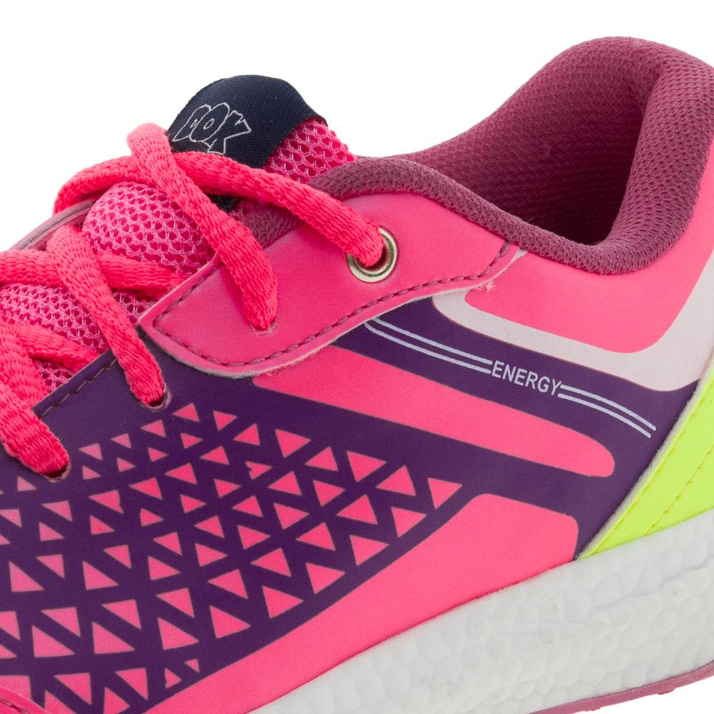 61f08152996 Tênis Infantil Feminino Pink Dok - 58001 - cloviscalcados