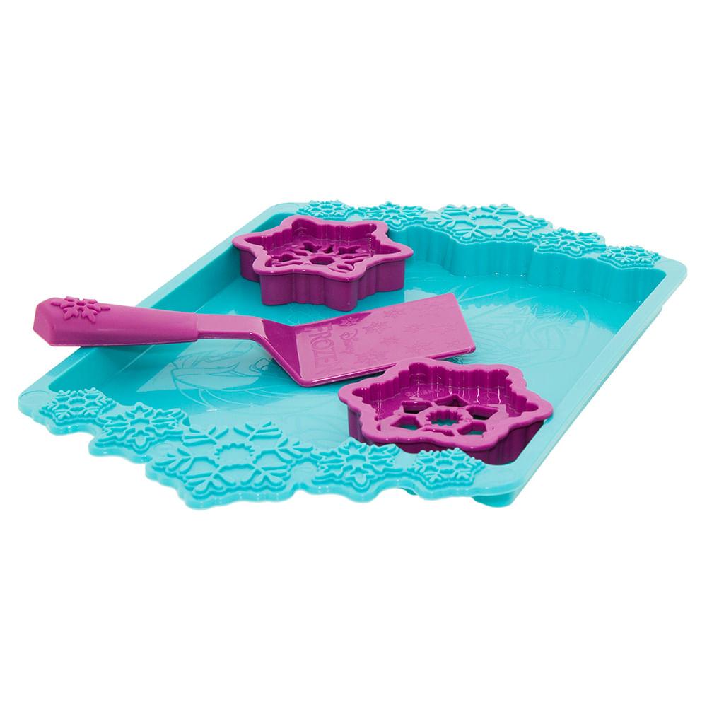 f42f72405c Sandália Infantil Feminina Frozen Cookies Rosa Grendene Kids - 21681 -  cloviscalcados