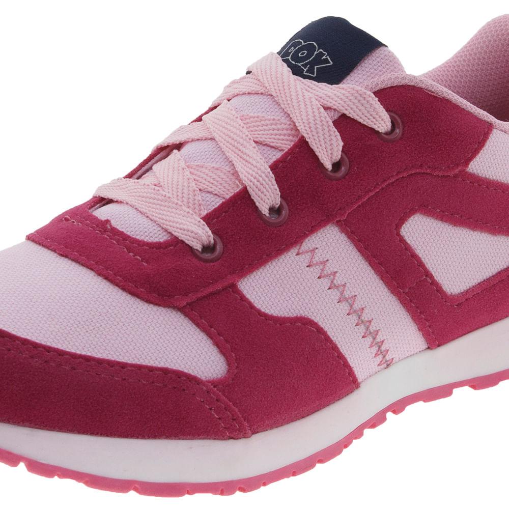 d226e3f9f49 Tênis Infantil Feminino Rosa Pink Dok - 61011 - cloviscalcados