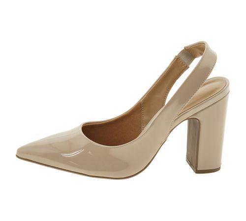 899d4de1a Sapato Feminino Chanel Bege Vizzano - 1285103 - cloviscalcados