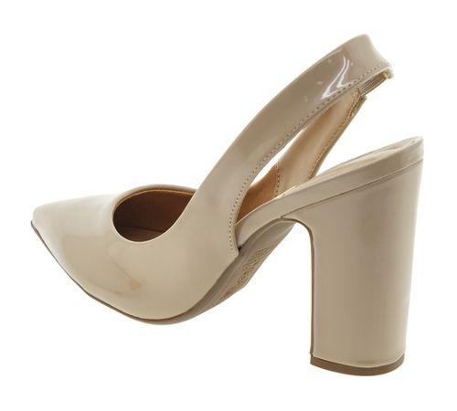 fe6276787b Sapato Feminino Chanel Bege Vizzano - 1285103 - cloviscalcados