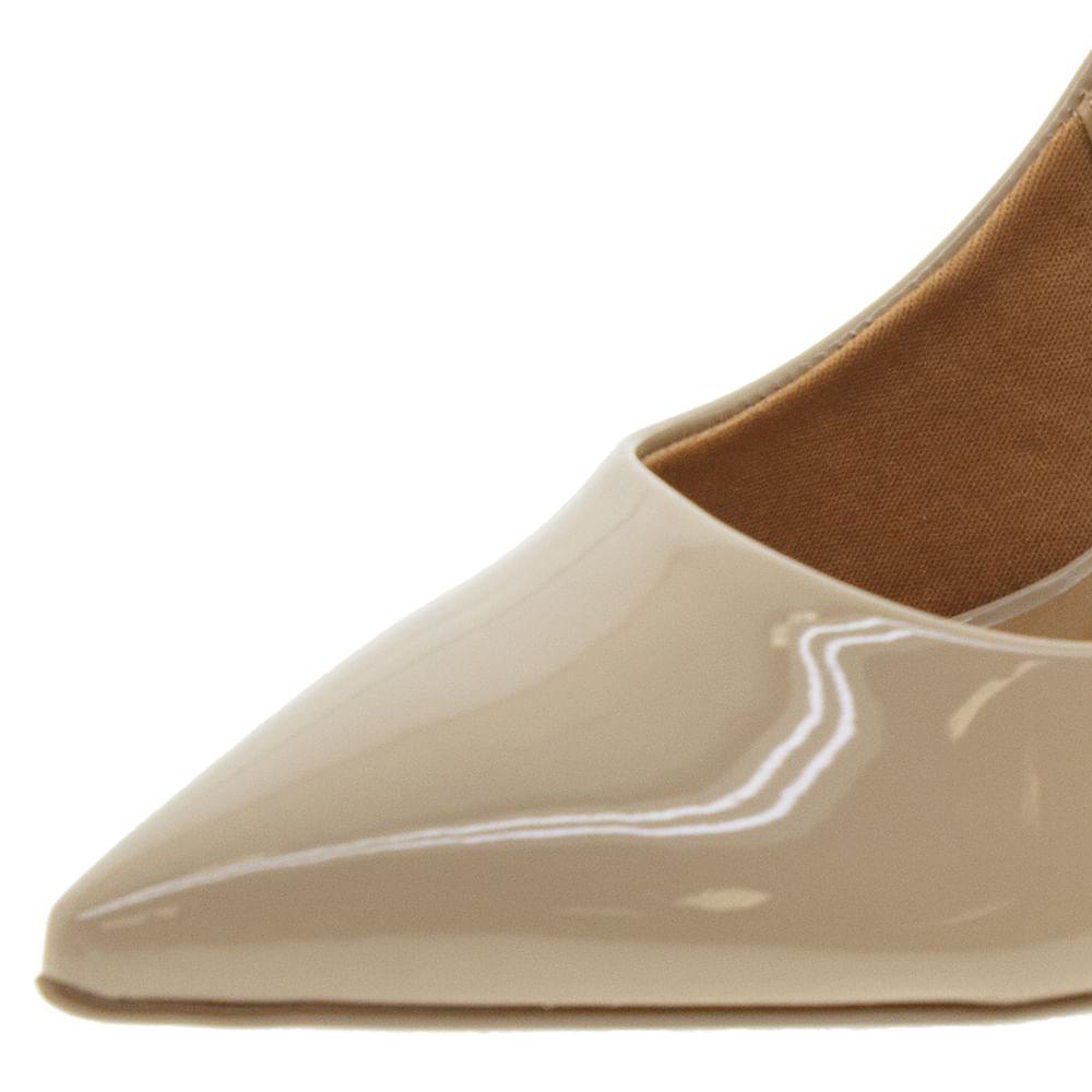 36526f3fbe Sapato Feminino Chanel Bege Vizzano - 1285103 - cloviscalcados