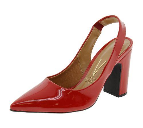 788631b15a Sapato Feminino Chanel Vermelho Vizzano - 1285103 - cloviscalcados