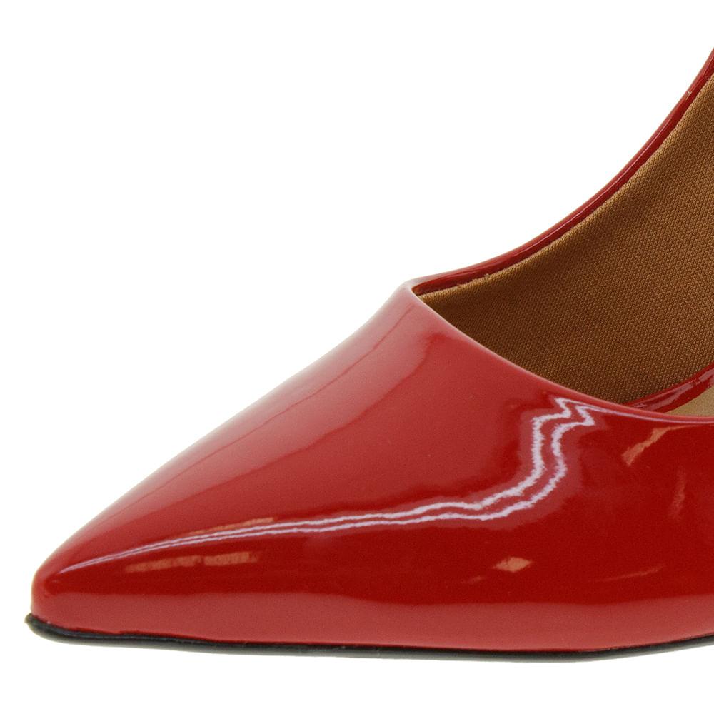 976dd4f8b Sapato Feminino Chanel Vermelho Vizzano - 1285103 - cloviscalcados