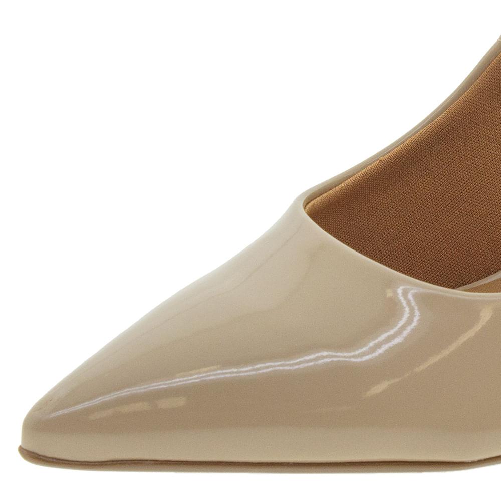 c45cf39f8 Sapato Feminino Salto Alto Bege Vizzano - 1285100 - cloviscalcados