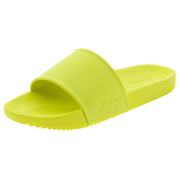 Chinelo-Feminino-Slide-Verde-Zaxy---17333-01