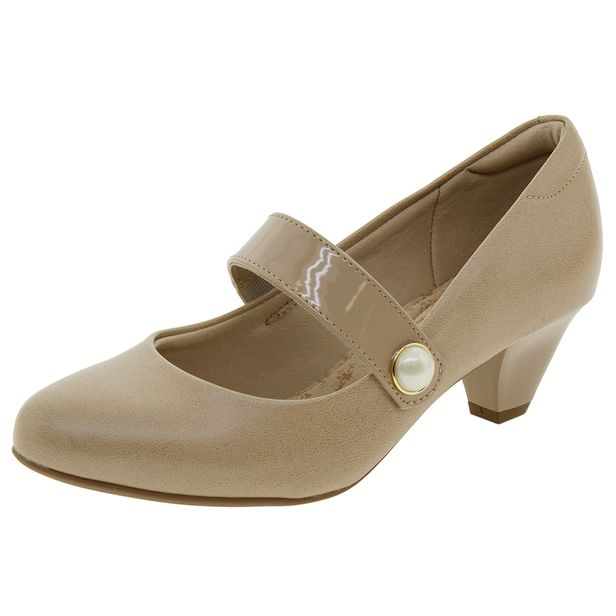 Sapato-Feminino-Salto-Baixo-Bege-Modare---7005140-01
