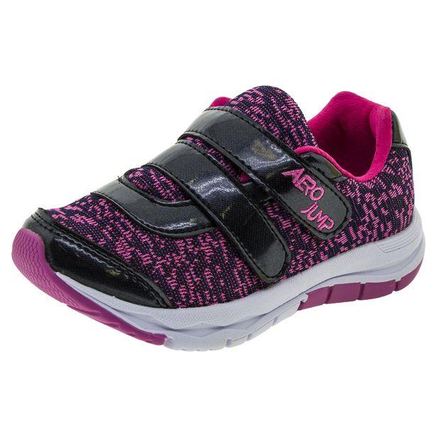 Tenis-Infantil-Masculino-Preto-Rosa-Aero-Jump---039015-01