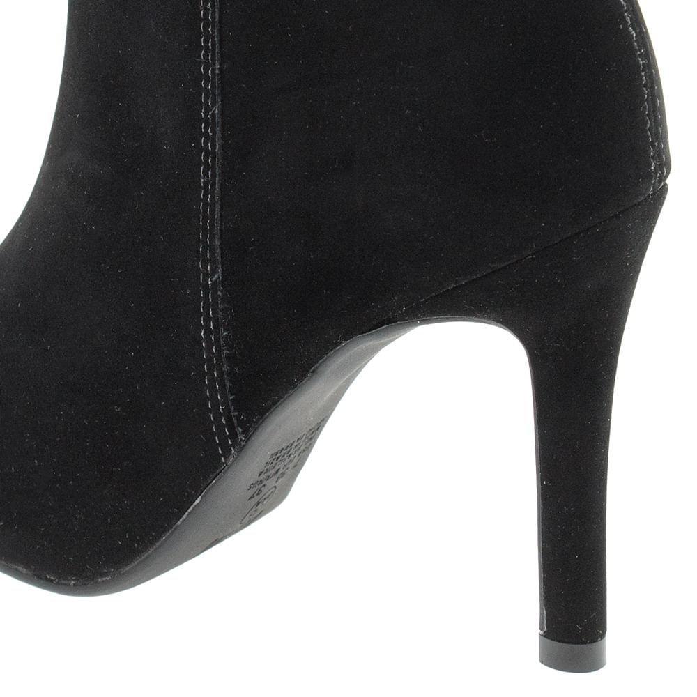 5f2097dd1e Bota Feminina Ankle Boot Preta Vizzano - 3049219 - cloviscalcados