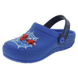 Clog-Infantil-Masculino-Homem-Aranha-Azul-Grendene-Kids---21786-01