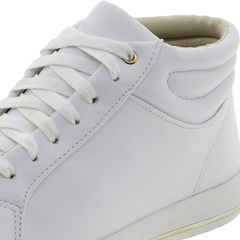 9f6162a512 Tênis Feminino Branco ComfortFlex - 1759305 - cloviscalcados