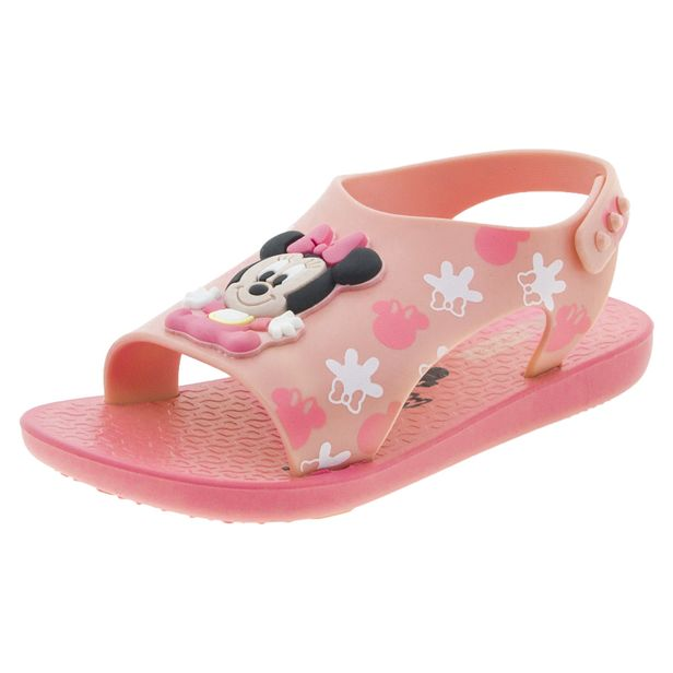 47a72c591c Sandália Infantil Baby Love Disney Rosa Ipanema - 26111 - cloviscalcados