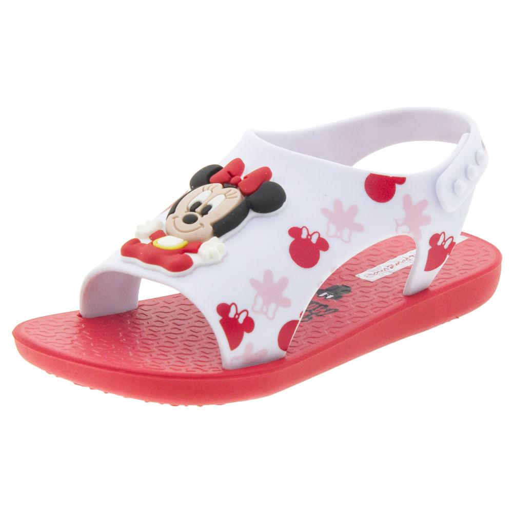 da003f2cbd Sandália Infantil Baby Love Disney Vermelha Ipanema - 26111 ...