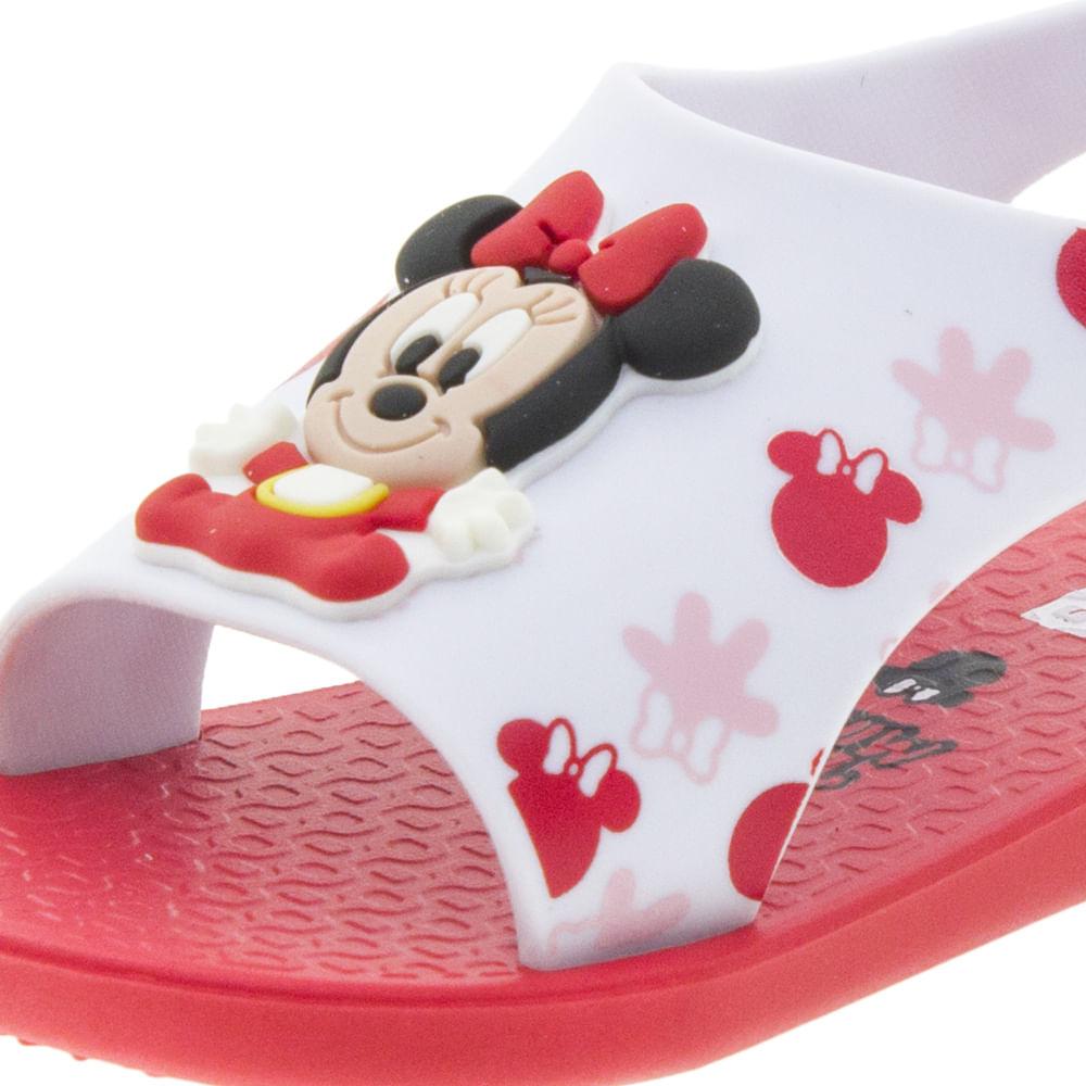 41c3b1f9a Sandália Infantil Baby Love Disney Vermelha Ipanema - 26111 - cloviscalcados