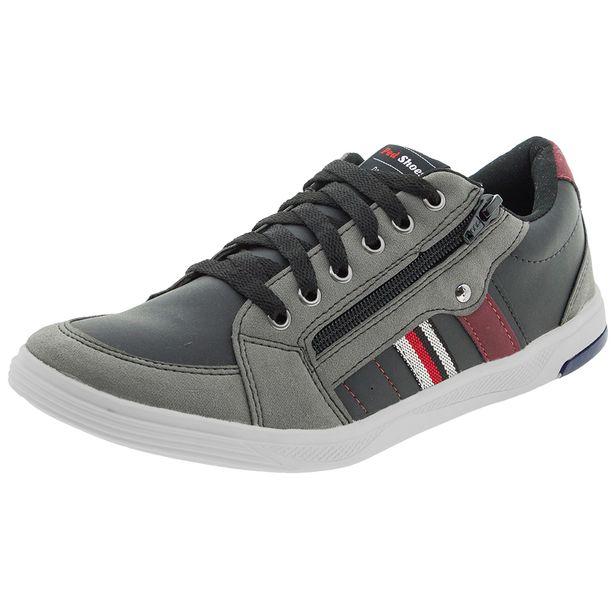 Sapatenis-Masculino-Preto-Cinza-Ped-Shoes---61000-01