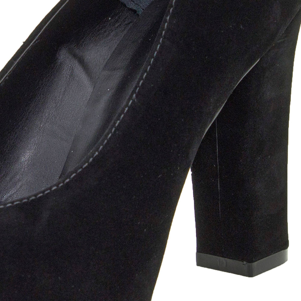 d1d0d8cc25 Sapato Feminino Salto Alto Preto Mixage - 3629002 - cloviscalcados