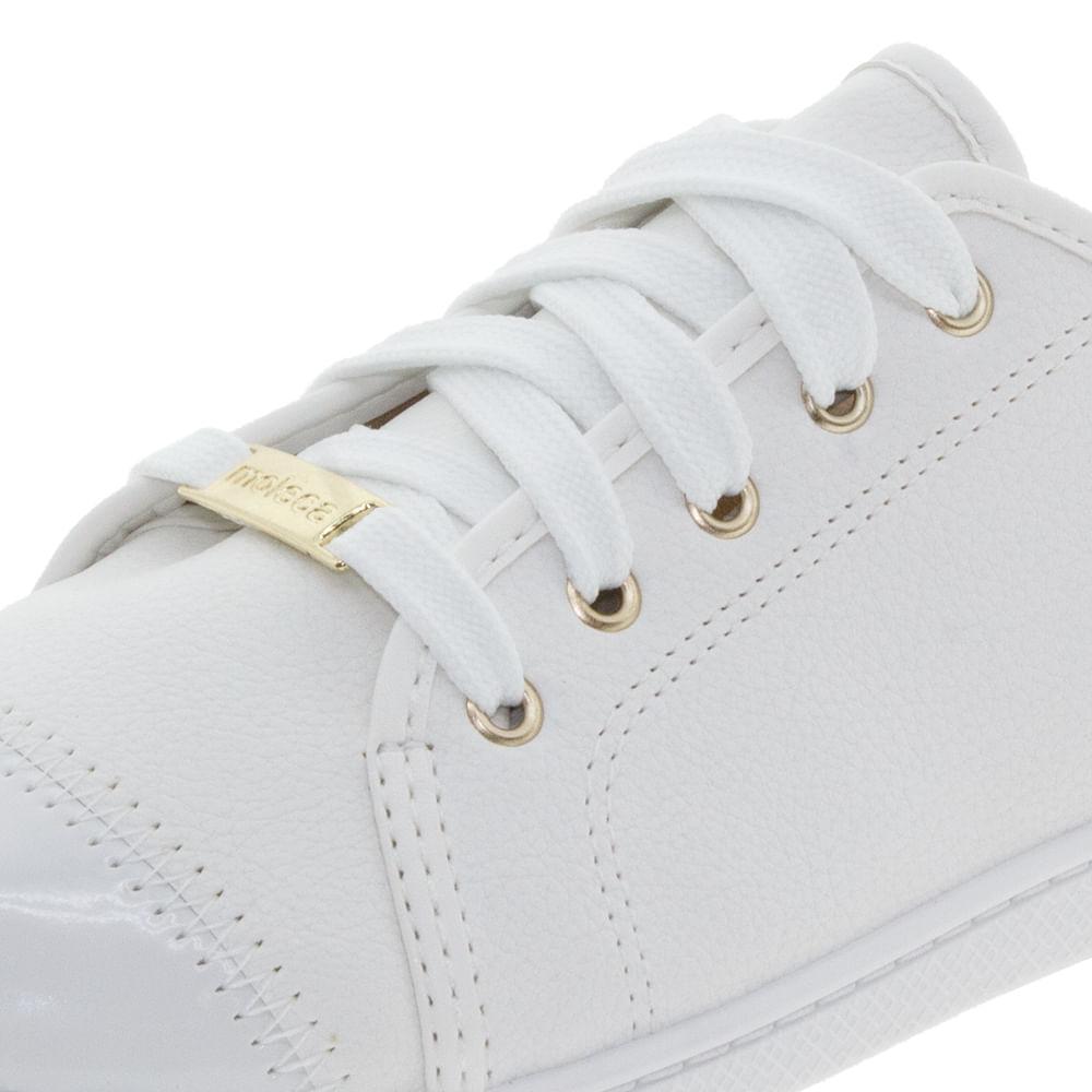 e69bdb1ec Tênis Feminino Casual Branco Moleca - 5605112 - cloviscalcados