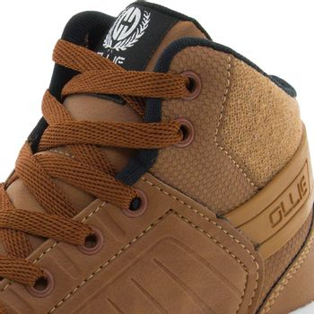 Tenis-Infantil-Masculino-Cano-Alto-Camel-Ollie---417-05