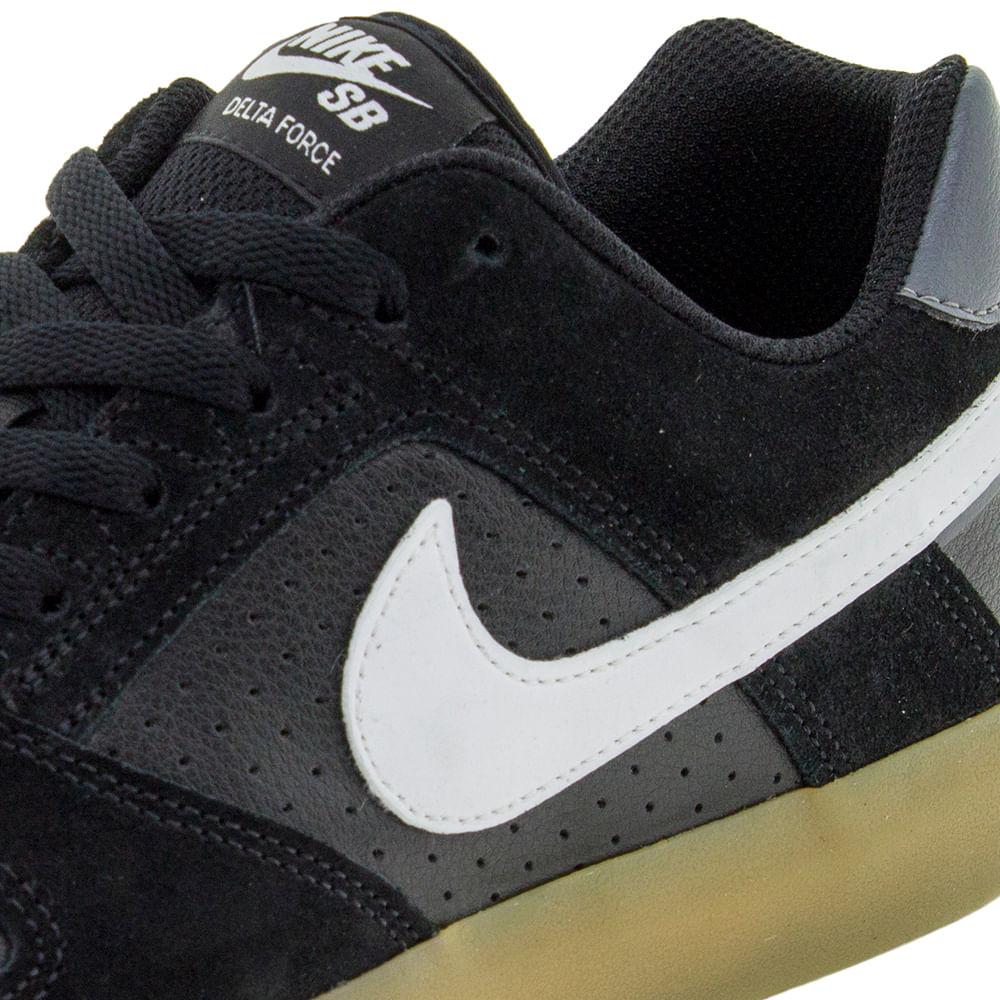 Tênis Masculino SB Delta Preto Preto Preto Nike 942237 cloviscalcados ae897d