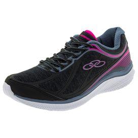 Tenis-Feminino-Actual-Preto-Rosa-Olympikus---422-01