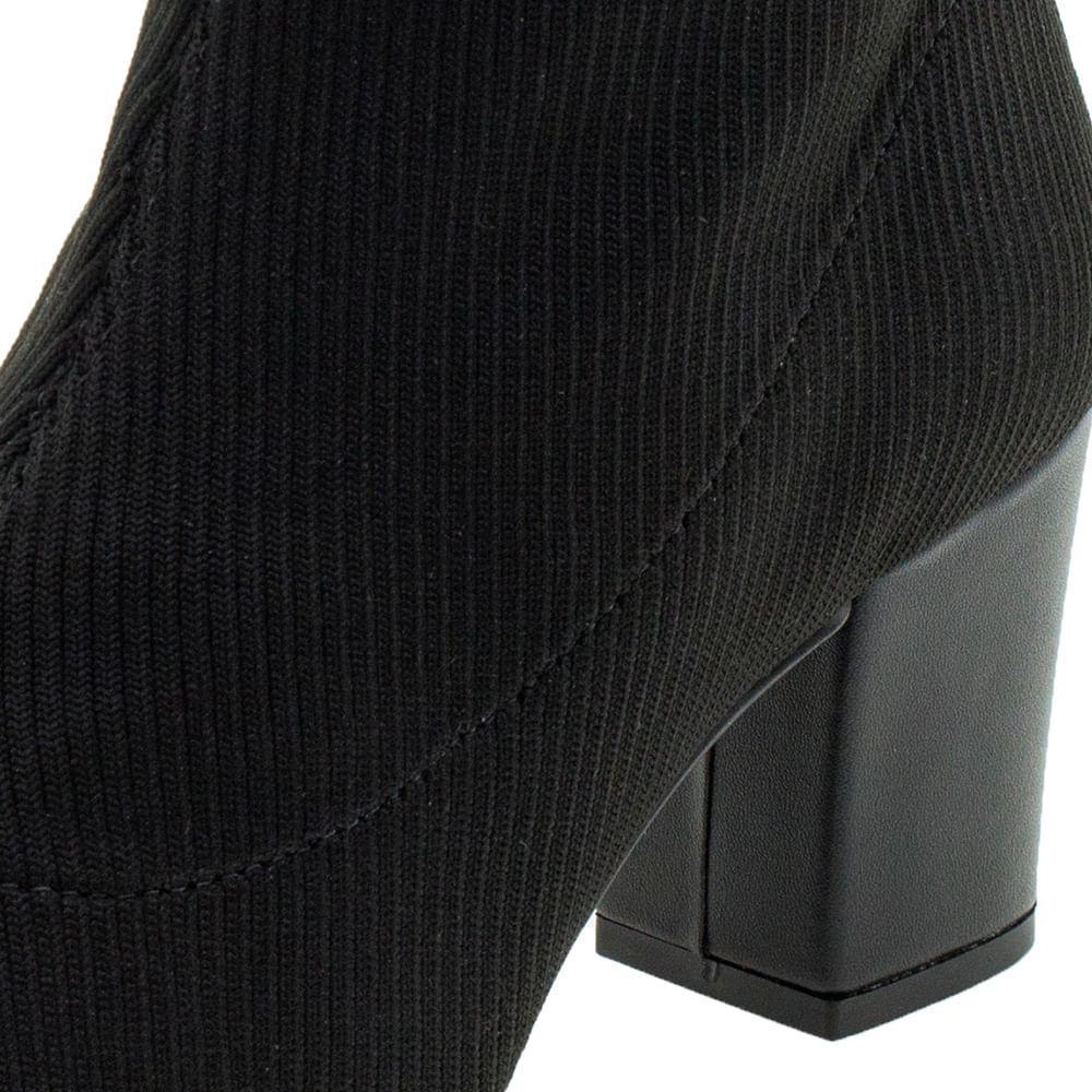 0fb2e31c62 Bota Feminina Cano Baixo Preta Dakota - G0013 - cloviscalcados
