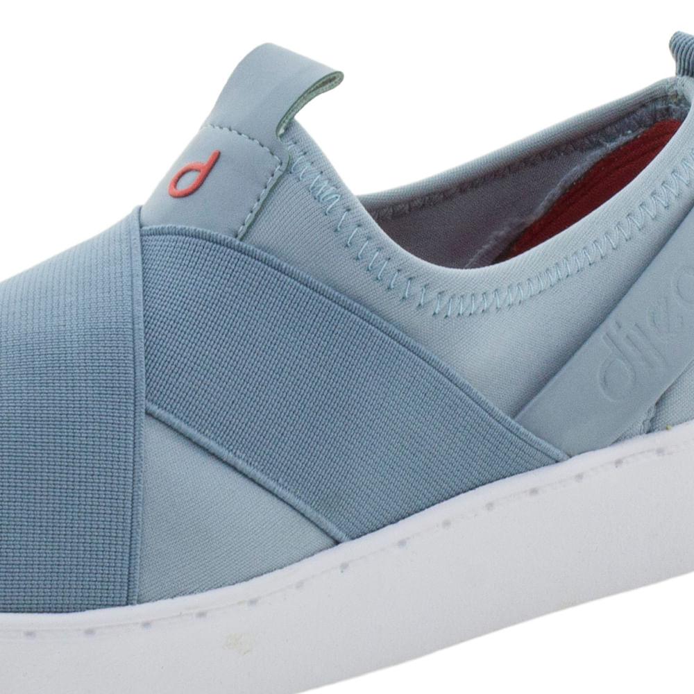 Tênis Feminino Azul Dijean - 885 - cloviscalcados 67448355264ed