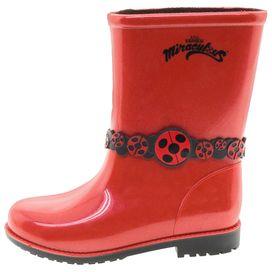 Bota-Infantil-Feminina-Ladybug-Vermelha-Grendene-Kids---21752-02