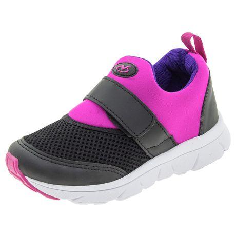 Tenis-Infantil-Feminino-Preto-Pink-Via-Vip---VV1020-01