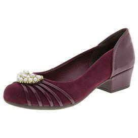 Sapato-Feminino-Salto-Baixo-Vinho-Dakota---B8154-01