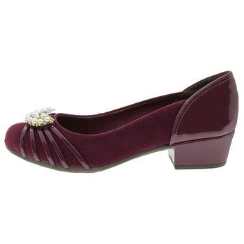 Sapato-Feminino-Salto-Baixo-Vinho-Dakota---B8154-02