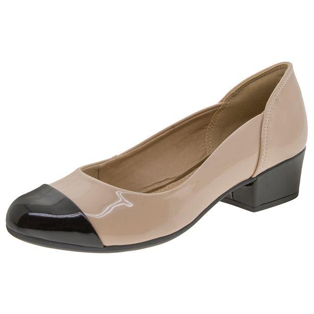 Sapato-Feminino-Salto-Baixo-Bege-Dakota---B8155-01