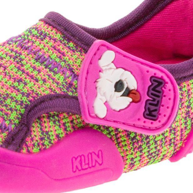 031cdc4b4be Tênis Infantil Baby New Confort Pink Vinho Klin - 17900 - cloviscalcados