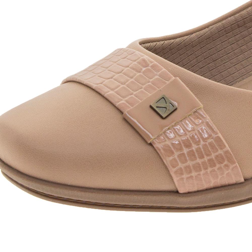 367a8a9ef6 Sapato Feminino Anabela Nude Piccadilly - 144021 - cloviscalcados