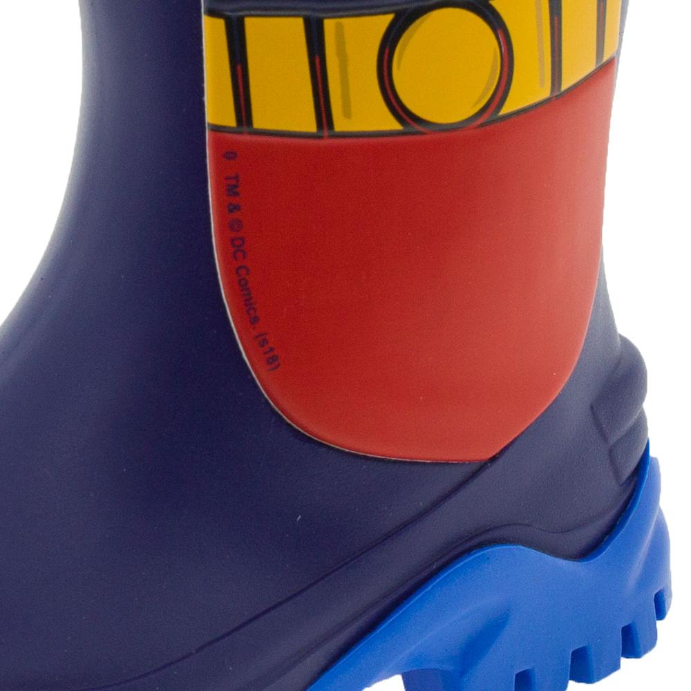 68b51087edf Bota Infantil Masculina Liga da Justiça Azul Grendene Kids - 21766 -  cloviscalcados