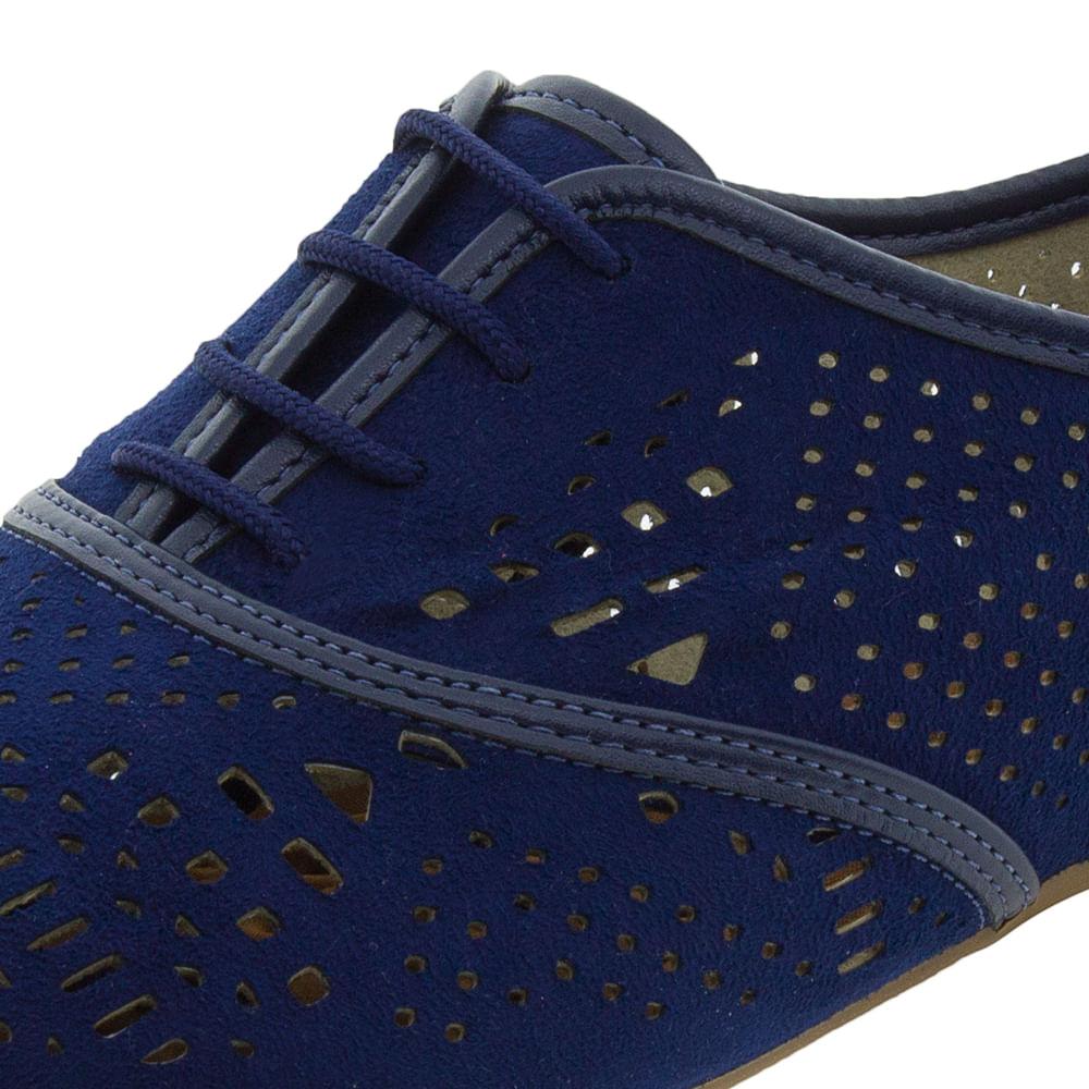 e97937bbd4 Sapato Feminino Oxford Marinho Beira Rio - 4150101 - cloviscalcados