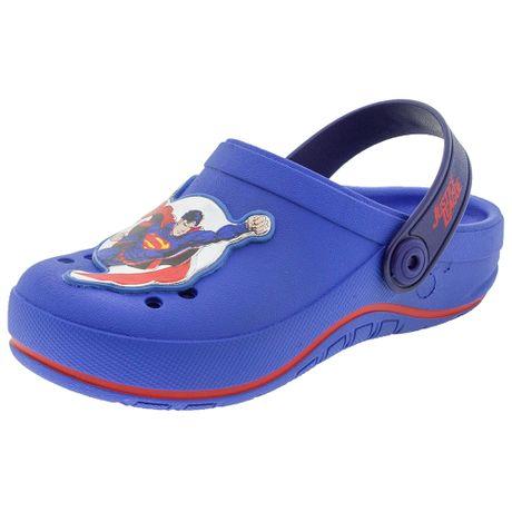 Clog-Infantil-Masculino-Liga-da-Justica-Marinho-Grendene-Kids---21627-01