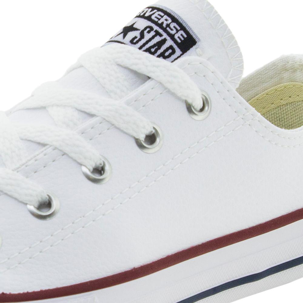 8b188004e9 Tênis Infantil Masculino Branco Converse All Star - CK0420 - cloviscalcados