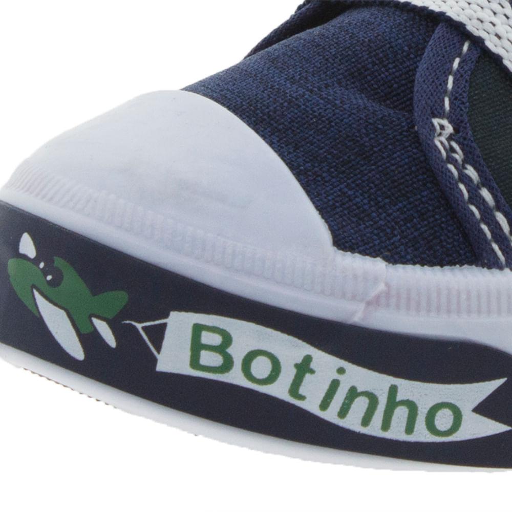 Tênis Infantil Baby Marinho Botinho - 821 - cloviscalcados 09264e972c5d2