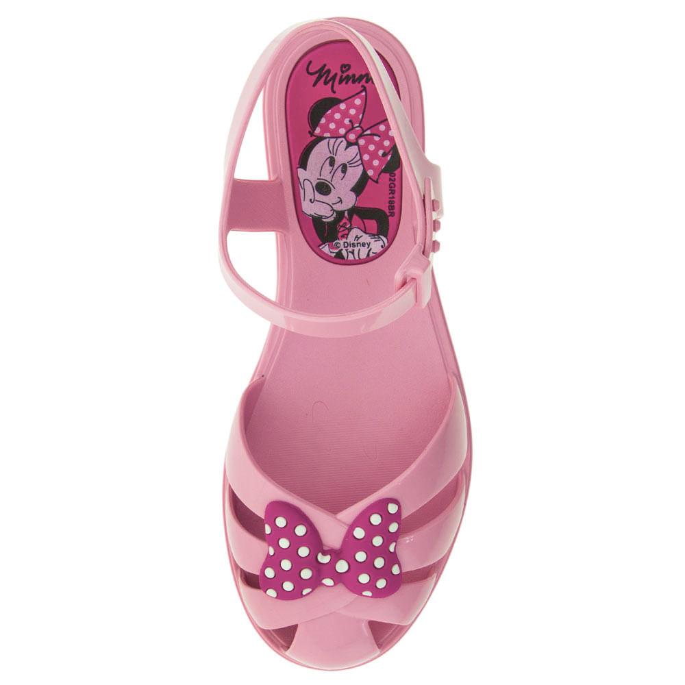 323c7bcc82 Sandália Infantil Feminina Minnie Rosa Grendene Kids - 21925 -  cloviscalcados