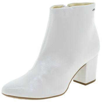 568563ee0 Bota Feminina Cano Baixo Branca Dakota - G0011 - cloviscalcados